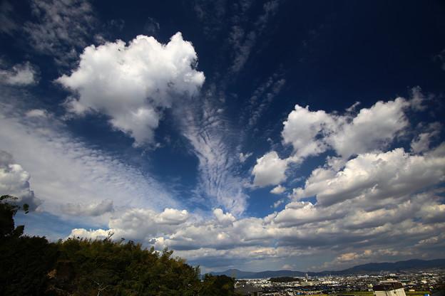 高い雲・低い雲