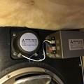 写真: ダイヤトーン R305のウーファー スポンジ交換 2
