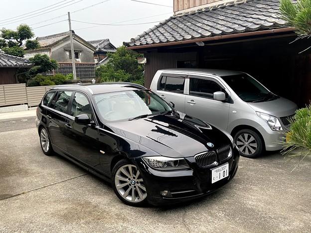 BMW E91のプラグ、イグニッションコイルの交換。7