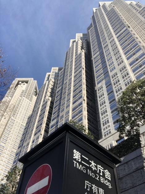 新宿にある東京都庁☆展望台からは新宿の街並みを堪能できる