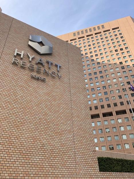 HYATT REGENCY TOKYOは一面タイル張り
