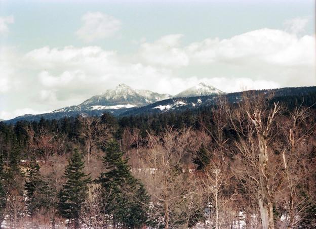 写真: CI38-春のオッパイ山(クマネシリ)
