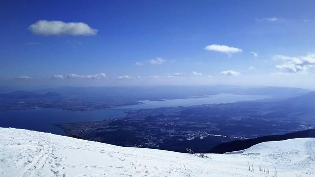 景色は日本一のゲレンデだと思ってます。