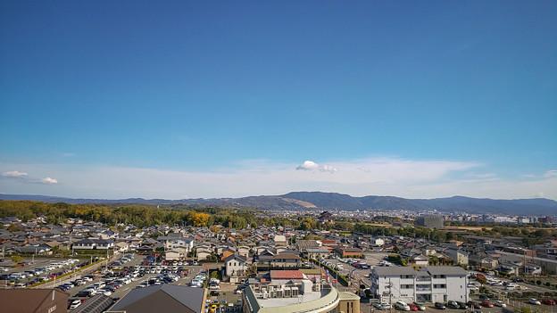 平城山の風景