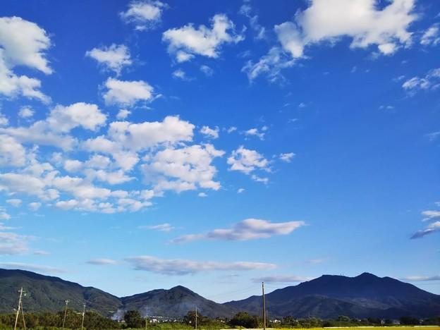 写真: blue sky 2