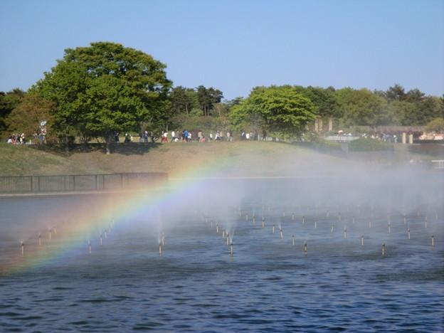 Photos: rainbow mist