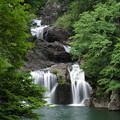 写真: 初夏の三段峡 三ッ滝