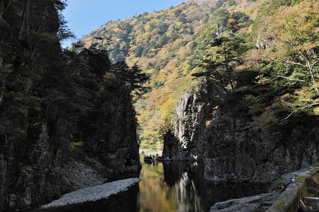 秋の三段峡(黒淵)