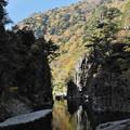写真: 秋の三段峡(黒淵)