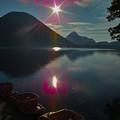 写真: 榛名湖と榛名富士!(^▽^)/