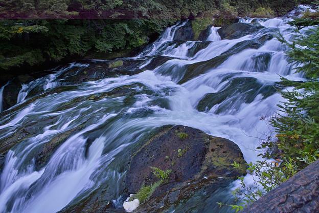 竜頭の滝中流