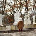 写真: みんな寒そうだね~(^▽^)/