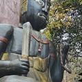 Photos: 滝の上に鎮座する阿修羅像!(^▽^)/