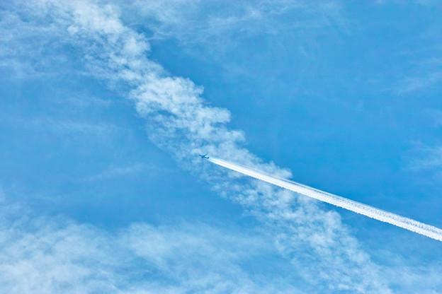 飛行機雲!(#^.^#)