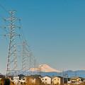 Photos: 高圧鉄塔と浅間山