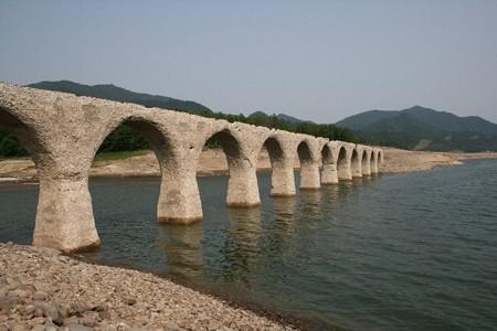 170512タウシュベツ川橋梁