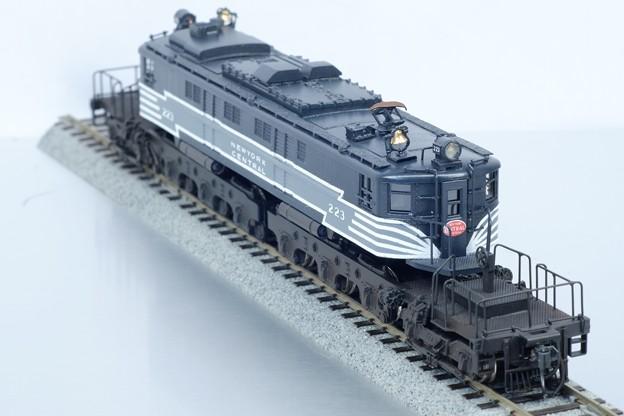 Photos: マイクロキャスト水野 製 NYC 鉄道 P2 機関車 完成