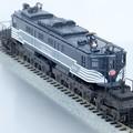 写真: マイクロキャスト水野 製 NYC 鉄道 P2 機関車 完成