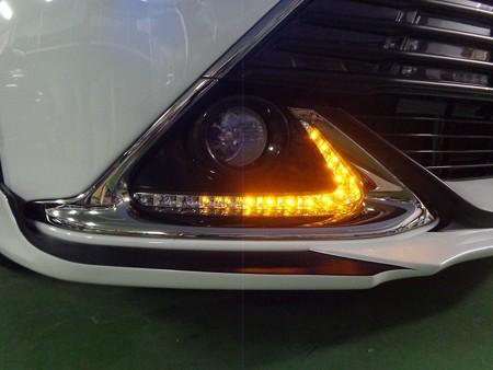 トヨタAQUA G's デイライト 2色LED加工 流星ウインカー
