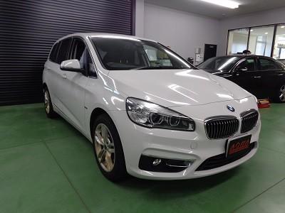 BMW2シリーズ TVキャンセラー取付