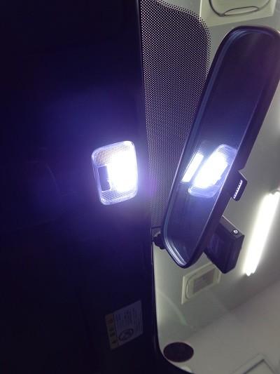 ロードスター LED取付
