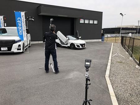 ガルウイングS660デモカー 雑誌取材