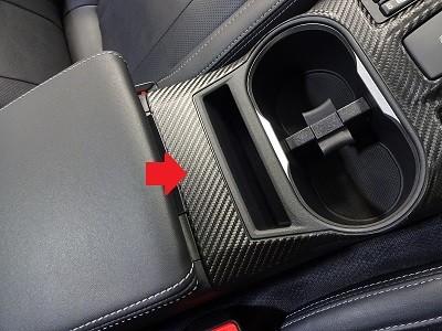 インプレッサスポーツ 車種別カット済みカーボンシート貼り込み