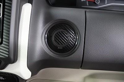N-BOX カット済みカーボンシート貼り込み