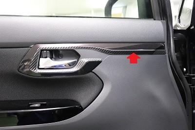 ムーヴ 車種別カット済みカーボンシート貼り込み
