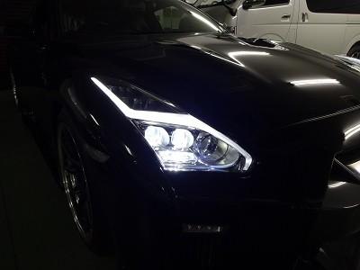 35GTR ヘッドライト交換