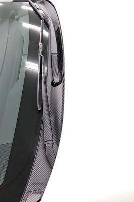 カローラスポーツ ワイパーカウルトップ用カット済みカーボンシート