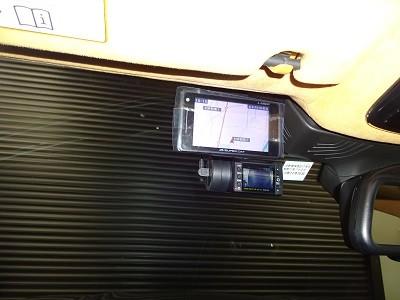 BMW750 ドライブレコーダー・レーダー取付