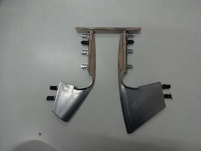 35GTR 8インチナビ加工取付 パネル加工 塗装前