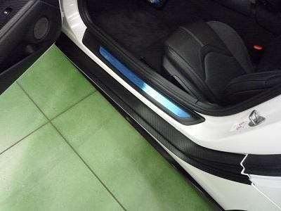 スープラ 東京都 車種別カット済みカーボンシート貼り込み