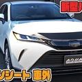 Photos: 新型ハリアー カット済み車外カーボンシート