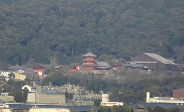 清水寺も見える