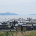 サンダーバード車窓から(琵琶湖)