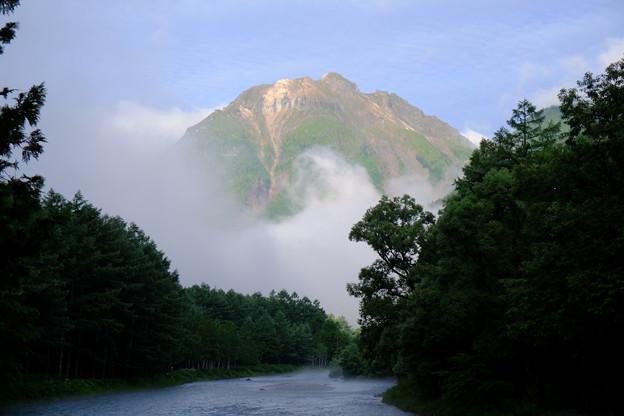 6時前の焼岳