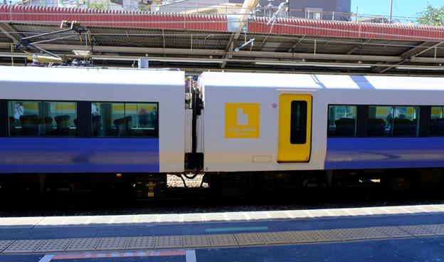 試運転の列車2