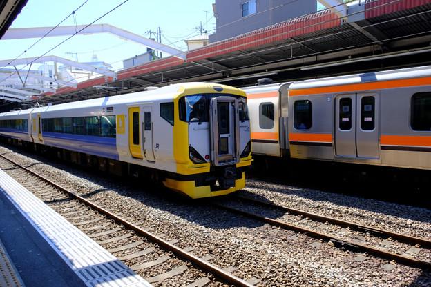 試運転の列車5