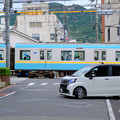写真: 京阪は路面電車