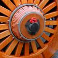 写真: 龍門滝山の車輪