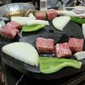 Photos: 近江牛ロース溶岩焼き