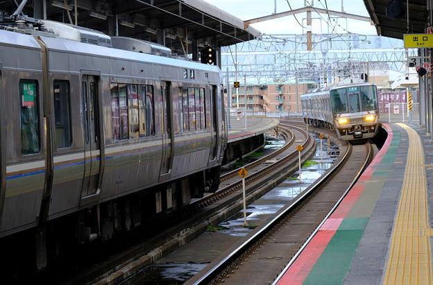やっとJR京都駅へ行かれる