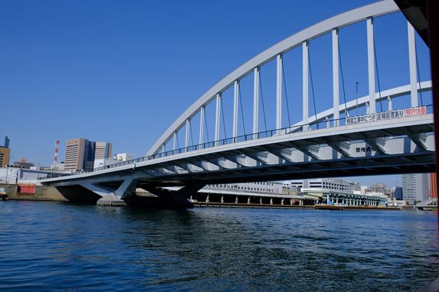 隅田川の橋 1築地大橋