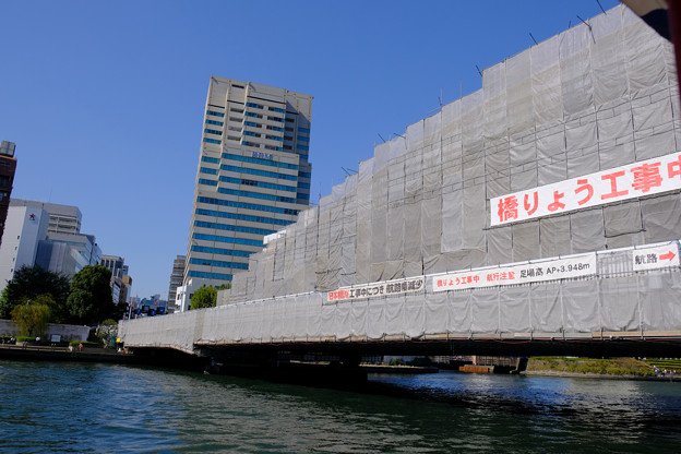 隅田川の橋 6永代橋