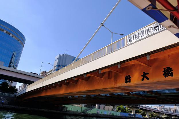 隅田川の橋 9新大橋