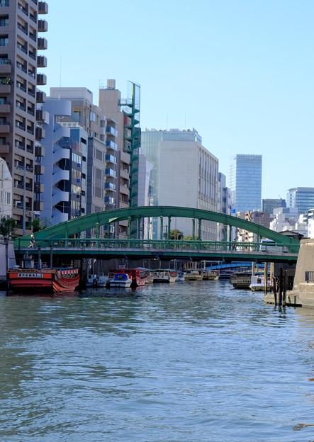 神田川にかかる柳橋