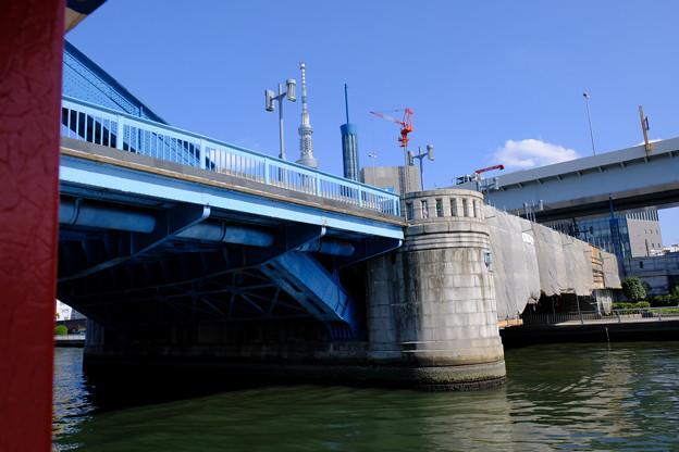 隅田川の橋 15駒形橋
