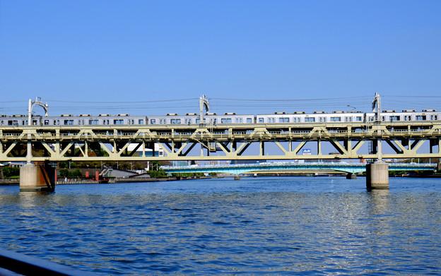 隅田川の橋 17東武花川戸鉄道橋と18言問橋